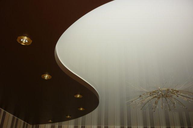 Натяжной потолок от Ривьеры в Заволжье